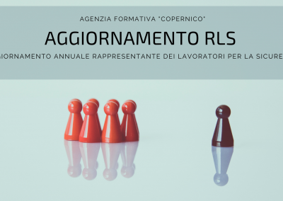 Aggiornamento Rappresentante Dei Lavoratori per la Sicurezza (RLS)