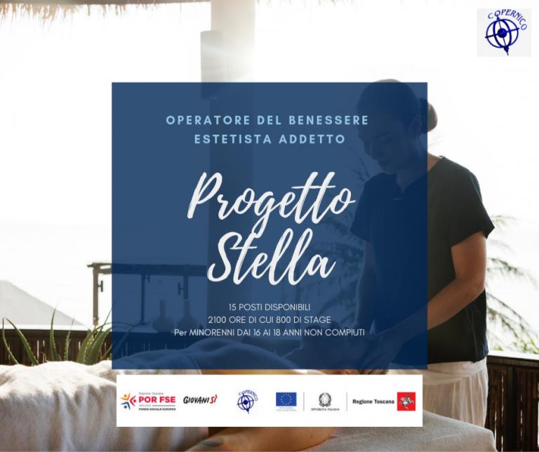 Progetto Stella – ESTETISTA ADDETTO