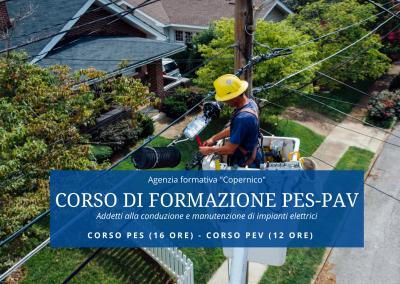 Addetti alla conduzione e manutenzione di impianti elettrici (PES-PAV)