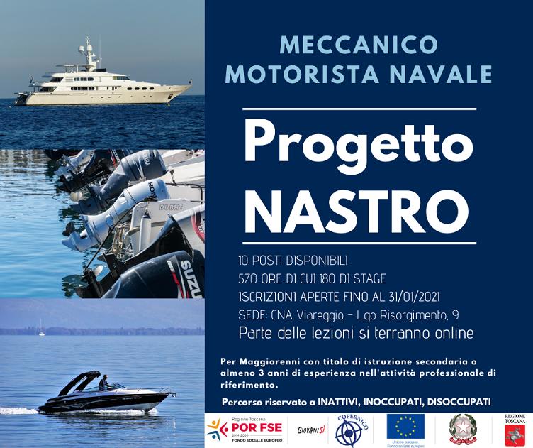 Progetto NASTRO – Meccanico Motorista Navale