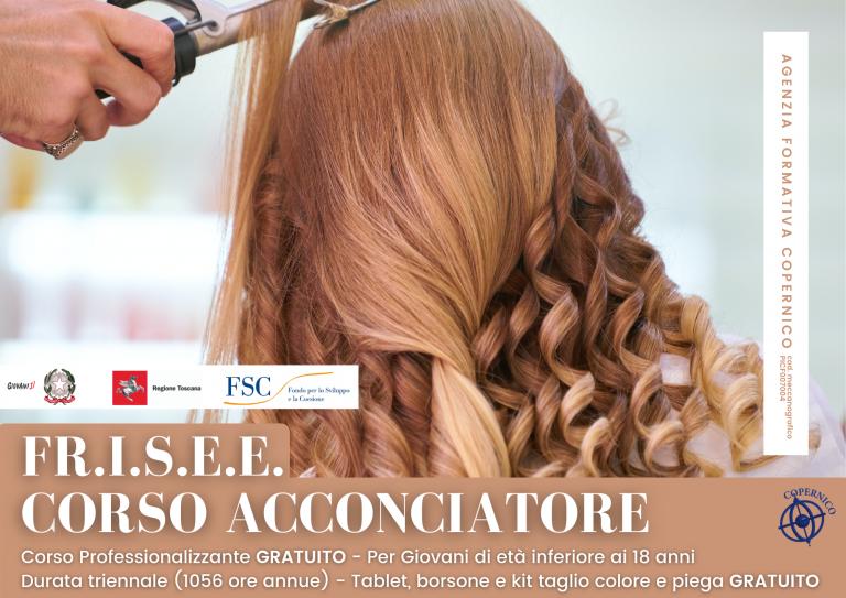 FR.I.S.E.E. – Corso Acconciatore